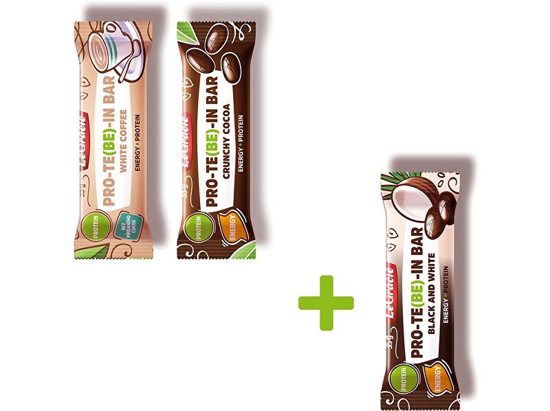 Zobrazit detail výrobku LeGracie Protein mix (Crunchy cocoa, White coffee, Black&white) Akce 2+1