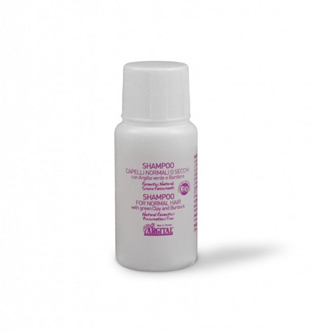 Argital Šampon na normální a suché vlasy s lopuchem 20 ml