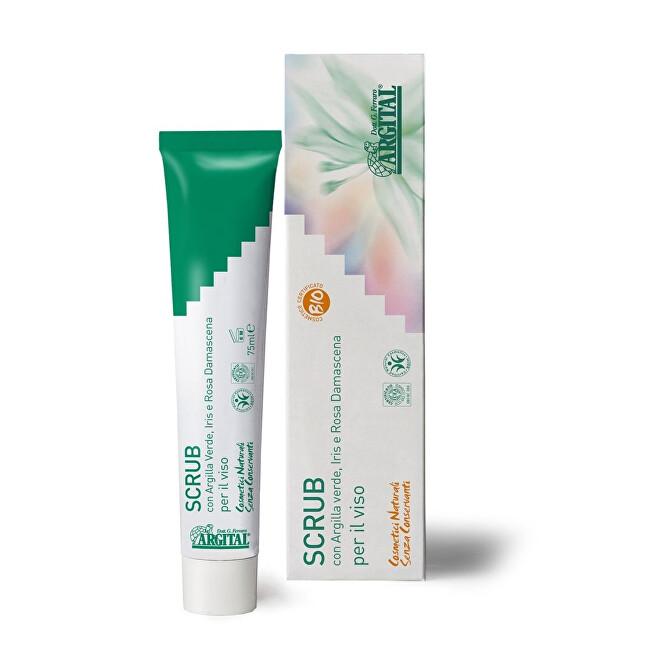 Zobrazit detail výrobku Argital Scrub a pleťová maska se zeleným jílem 75 ml