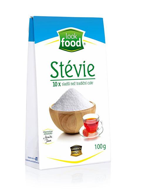 Look food s.r.o Stévie 10 x sladší než tradiční bílý cukr 100 g