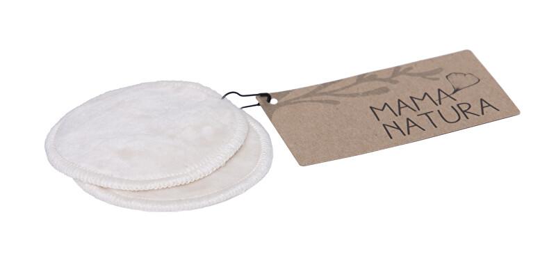 Mama Natura Tampon kosmetický samet – malý 7 cm - 2 ks