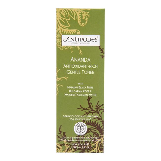 Zobrazit detail výrobku Antipodes Tonikum jemné antioxidační ANANDA 100 ml