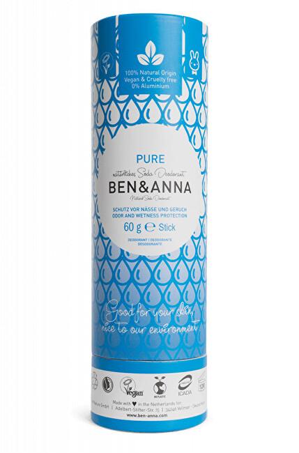 Zobrazit detail výrobku BEN & ANNA Tuhý deodorant BIO 60 g - bez vůně