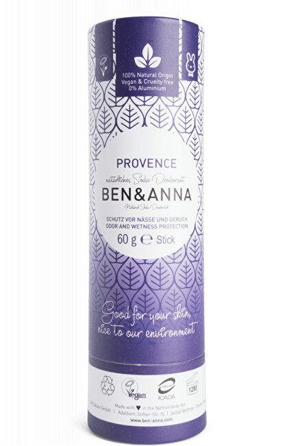 Zobrazit detail výrobku BEN & ANNA Tuhý deodorant BIO 60 g - Levandule