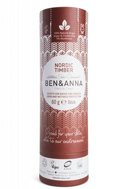 Zobrazit detail výrobku BEN & ANNA Tuhý deodorant BIO 60 g - Severské dřevo
