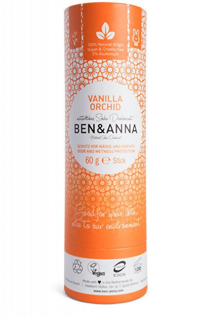 Zobrazit detail výrobku BEN & ANNA Tuhý deodorant BIO 60 g - Vanilková orchidej