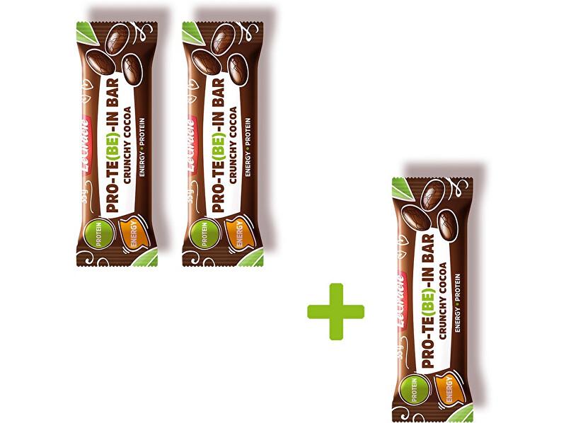 LeGracie Tyčinka čokoládová s dýňovým proteinem CRUNCHY 35 g Akce 2+1