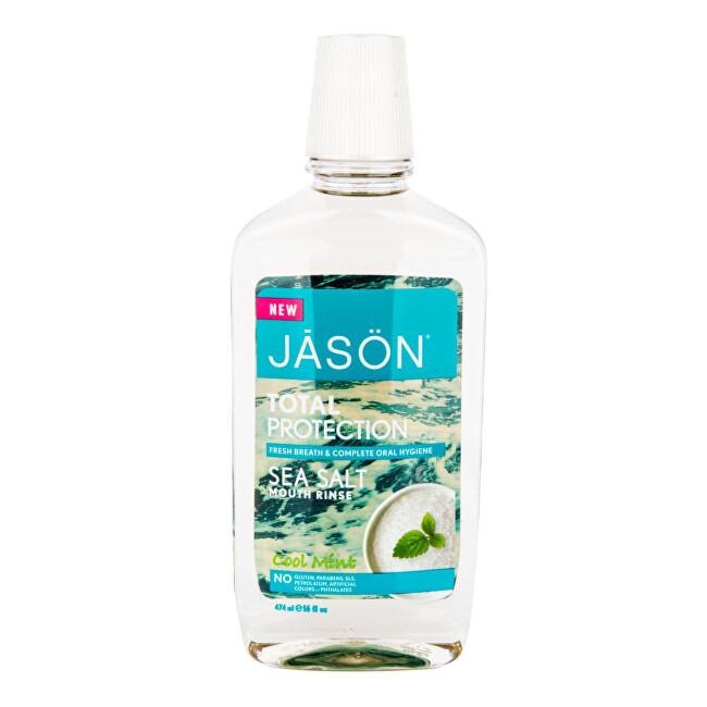 JASON Ústní voda total protection s mořskou solí a mátou 474 ml