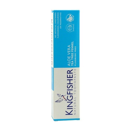 Zobrazit detail výrobku Kingfisher Zubní pasta Kingfisher Aloe, Tea tree & Fenykl 100 ml