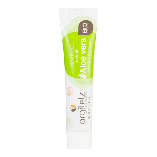 Zobrazit detail výrobku Argiletz Zubní pasta se zeleným jílem Aloe Vera 75 g BIO