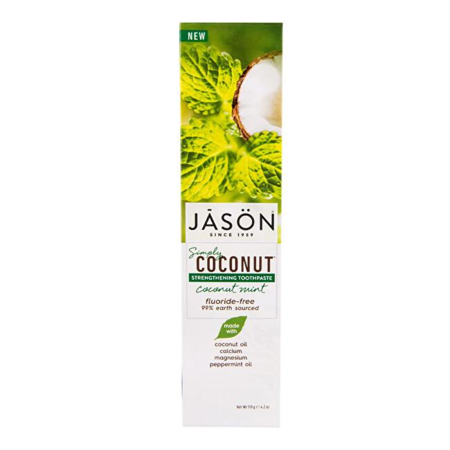 JASON Zubní pasta simply coconut posilující 119 ml