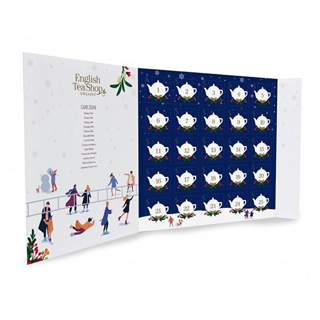 Zobrazit detail výrobku English Tea Shop Adventní kalendář Vánoční noc - Kniha 25 pyramidek