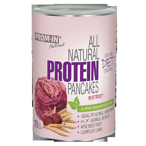 Zobrazit detail výrobku Prom-in All natural protein pancake 700 g Červená řepa