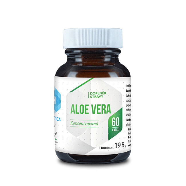 Hepatica Aloe Vera 60 kapslí