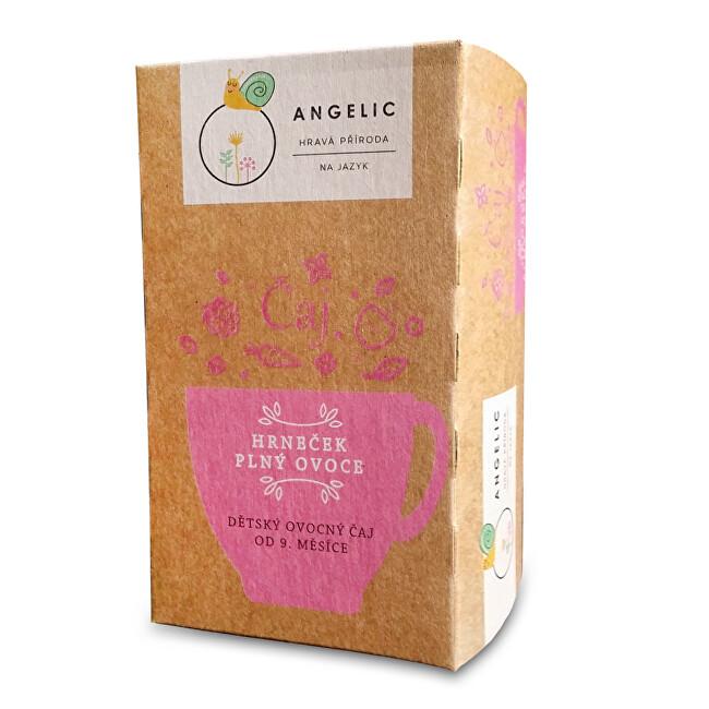 Angelic Angelic Hrneček plný ovoce dětský ovocný čaj 40 g