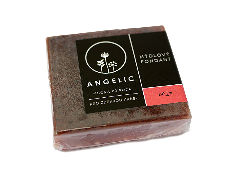 Angelic Angelic Mydlový fondant Ruže 105 g
