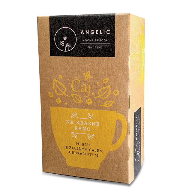 Zobrazit detail výrobku Angelic Angelic Na krásné ráno čaj porcovaný 40 g