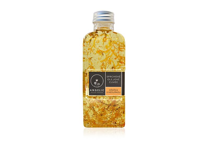 Zobrazit detail výrobku Angelic Angelic Sprchové olejové Cuvée Měsíček s meduňkou 200 ml