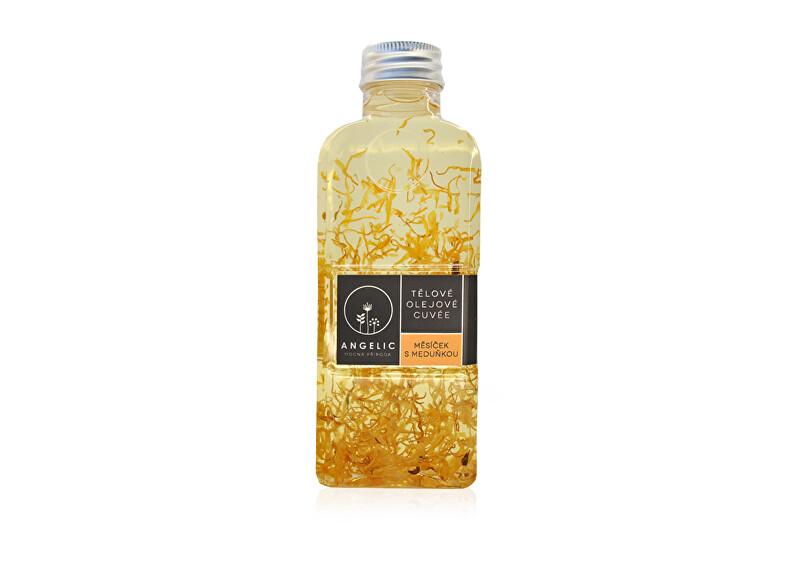 Zobrazit detail výrobku Angelic Angelic Tělové olejové Cuvée Měsíček s meduňkou 200 ml
