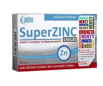 Astina Astina SuperZINC, 30 tablet