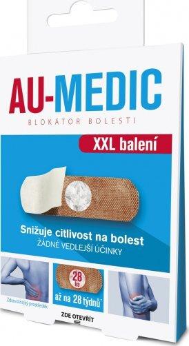 Zobrazit detail výrobku Au-Medic blokátor bolesti náplasti (crystal tape) 28 ks