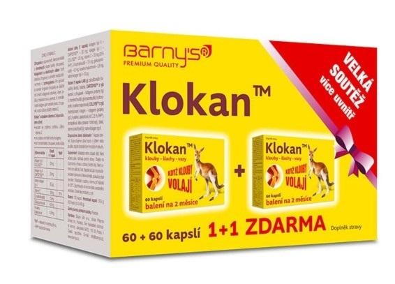 Zobrazit detail výrobku Barny´s Barny`s Klokan 60 + 60 tablet ZDARMA