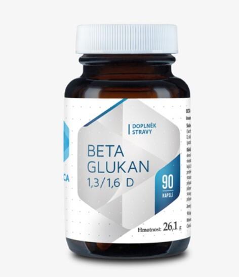 Zobrazit detail výrobku Hepatica Beta Glukan 90 cps.