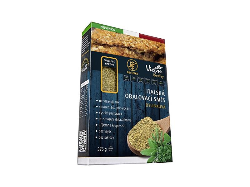 Bezlepková italská obalovací směs bylinková 375 g