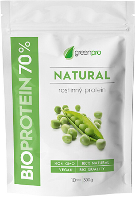 SALUTEM Pharma BioProtein 70% GreenPro Natural 300 g