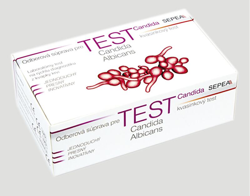 Candida albicans screen test IgA/IgG