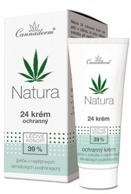 Zobrazit detail výrobku Cannaderm Cannaderm Natura 24 krém ochranný 50 g