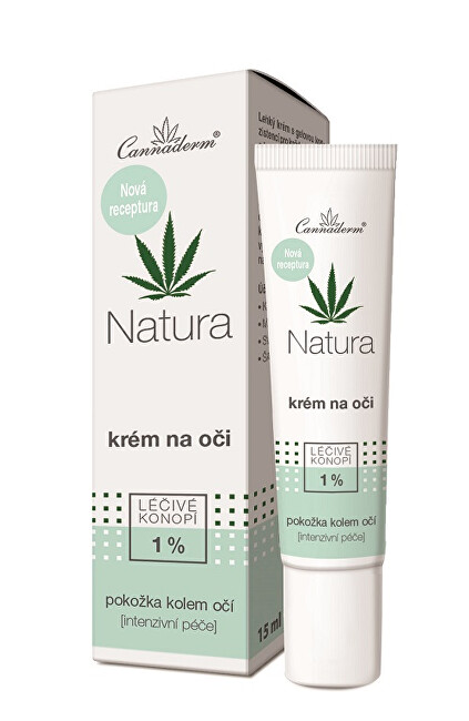 Zobrazit detail výrobku Cannaderm Cannaderm Natura krém na oči 15 ml