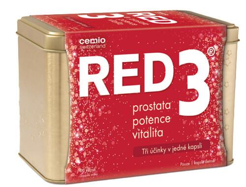 Cemio Cemio RED3 90 kapslí v plechové krabičce