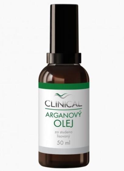 Clinical Clinical Arganový olej lisovaný za studena 50 ml