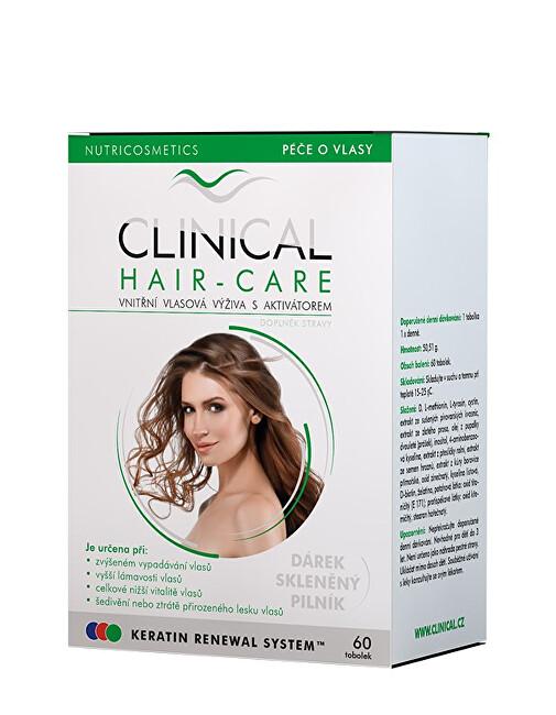 Clinical Clinical Hair-Care tob.60 + skleněný pilník - kúra na 2. měsíce
