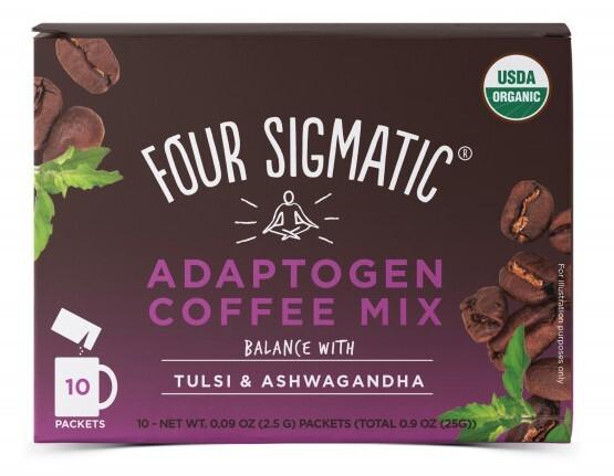 Zobrazit detail výrobku Four Sigmatic Coffee + Tulsi & Ashwagandha adaptogen mix