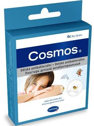 Cosmos Cosmos dětská náplast antibakteriální 4 ks 76 x 76 mm