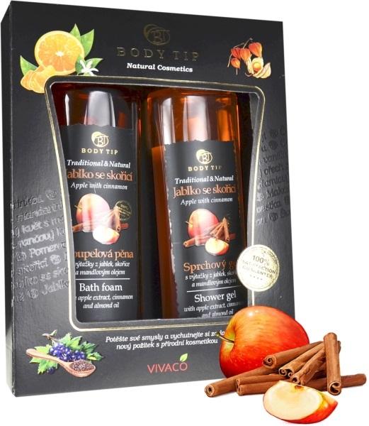 Zobrazit detail výrobku Body tip Dárková kazeta Jablko se skořicí - sprch. gel 200 ml, pěna do koupele 200 ml
