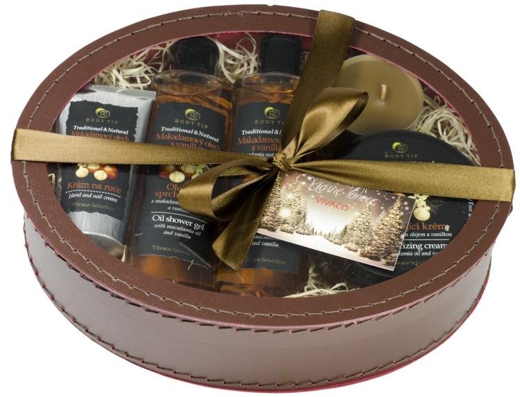 Body tip Dárkové balení Makadamový ořech s vanilkou - pečující