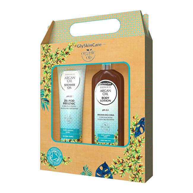 Biotter Pharma Dárková sada pro každodenní péči s arganovým olejem balzám + sprchový gel 2 x 250 ml