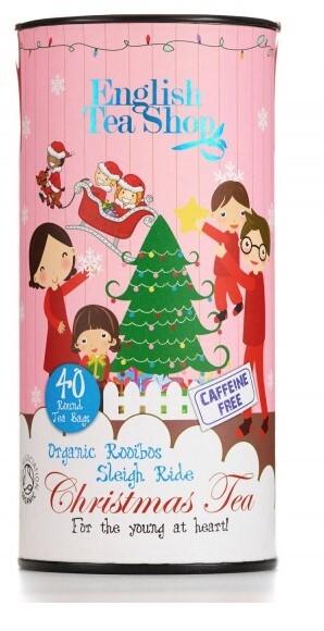 Zobrazit detail výrobku English Tea Shop Dětský čaj, jízda na saních, 40 sáčků, kanystr