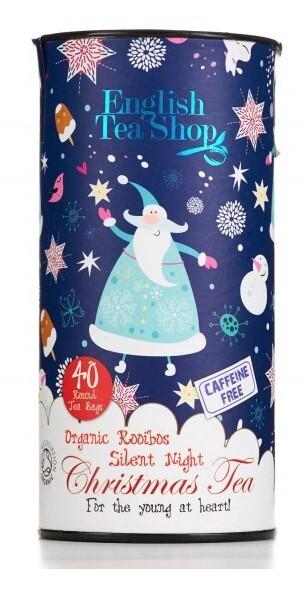 Zobrazit detail výrobku English Tea Shop Dětský čaj, tichá noc, 40 sáčků, kanystr