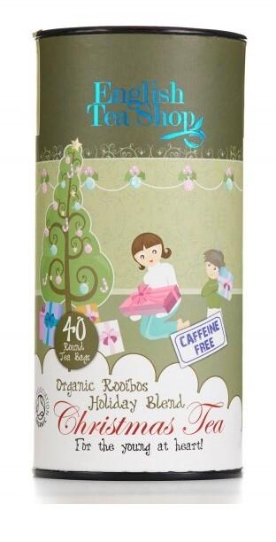 English Tea Shop Dětský čaj, vánoční směs, 40 sáčků, kanystr