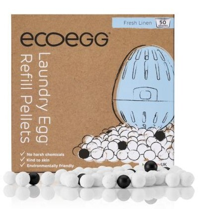 Ecoegg Ecoegg náhradí náplň do pracího vajíčka 50 praní vůně bavlny