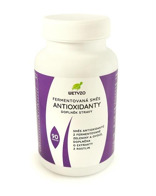 Wetyzo Fermentovaná směs - Antioxidanty 90 tobolek