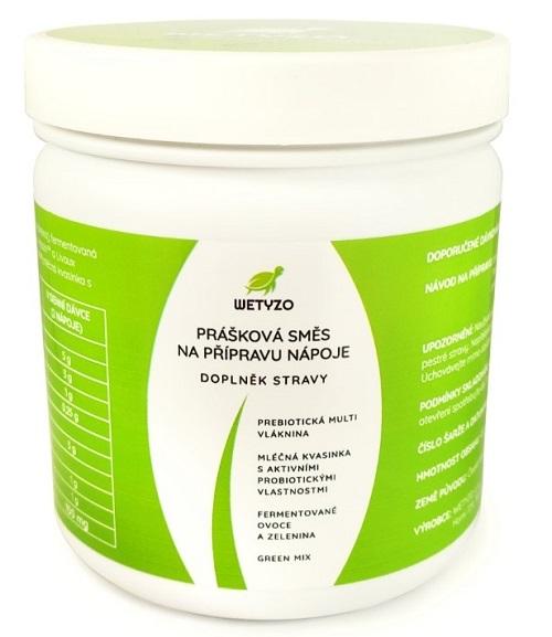 Zobrazit detail výrobku Wetyzo Fermentovaný nápoj s přírodními prebiotiky, probiotiky a Green mixem