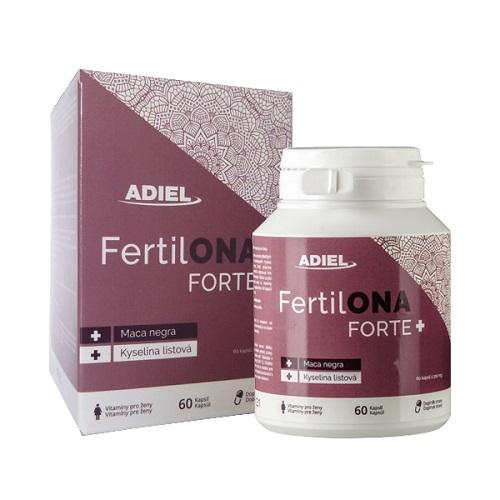 Zobrazit detail výrobku Adiel FertilONA forte PLUS vitamíny pro ženy 60 kapslí