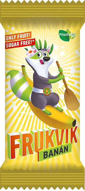 Zobrazit detail výrobku FRUKVIK Banán 20g