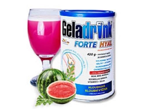 Zobrazit detail výrobku Orling GELADRINK® Forte hyal - meloun, nápoj - 420 g