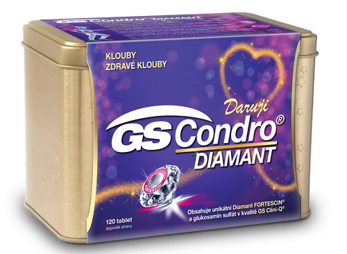 Zobrazit detail výrobku GreenSwan GS Condro DIAMANT 120 tablet v plechové krabičce